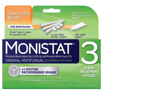 Monistat 3 Ovule Reviews