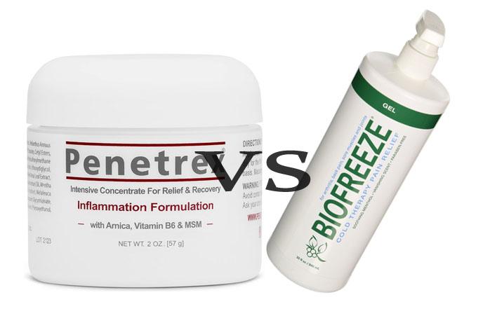 Penetrex Vs BioFreeze
