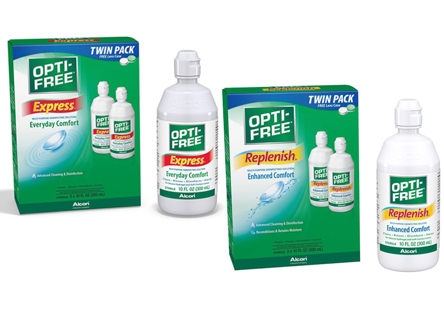 Opti Free Express Vs Replenish