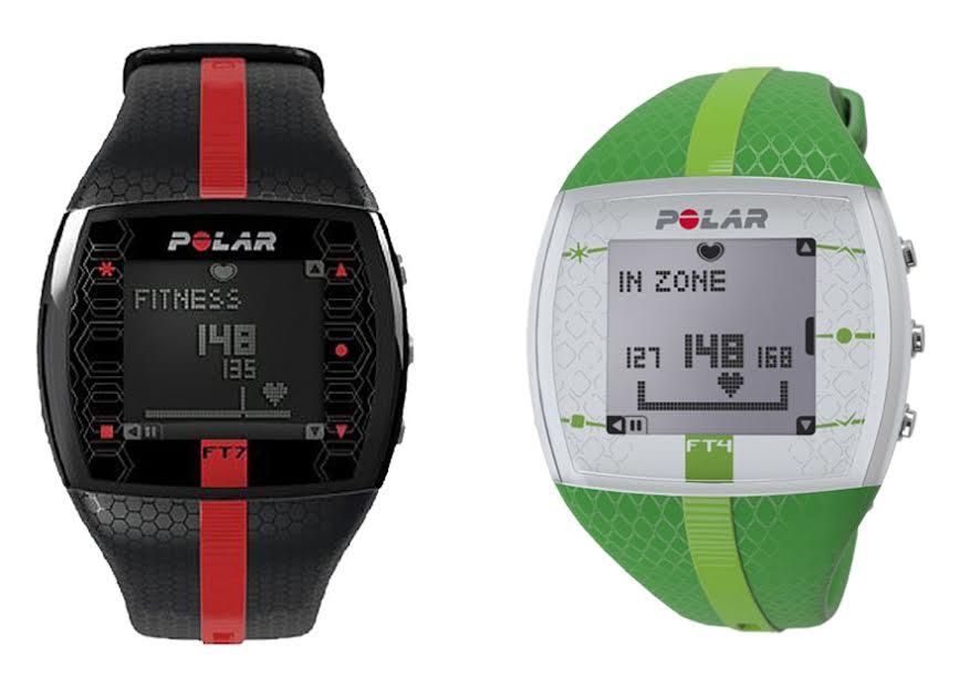 Polar FT7 vs FT4