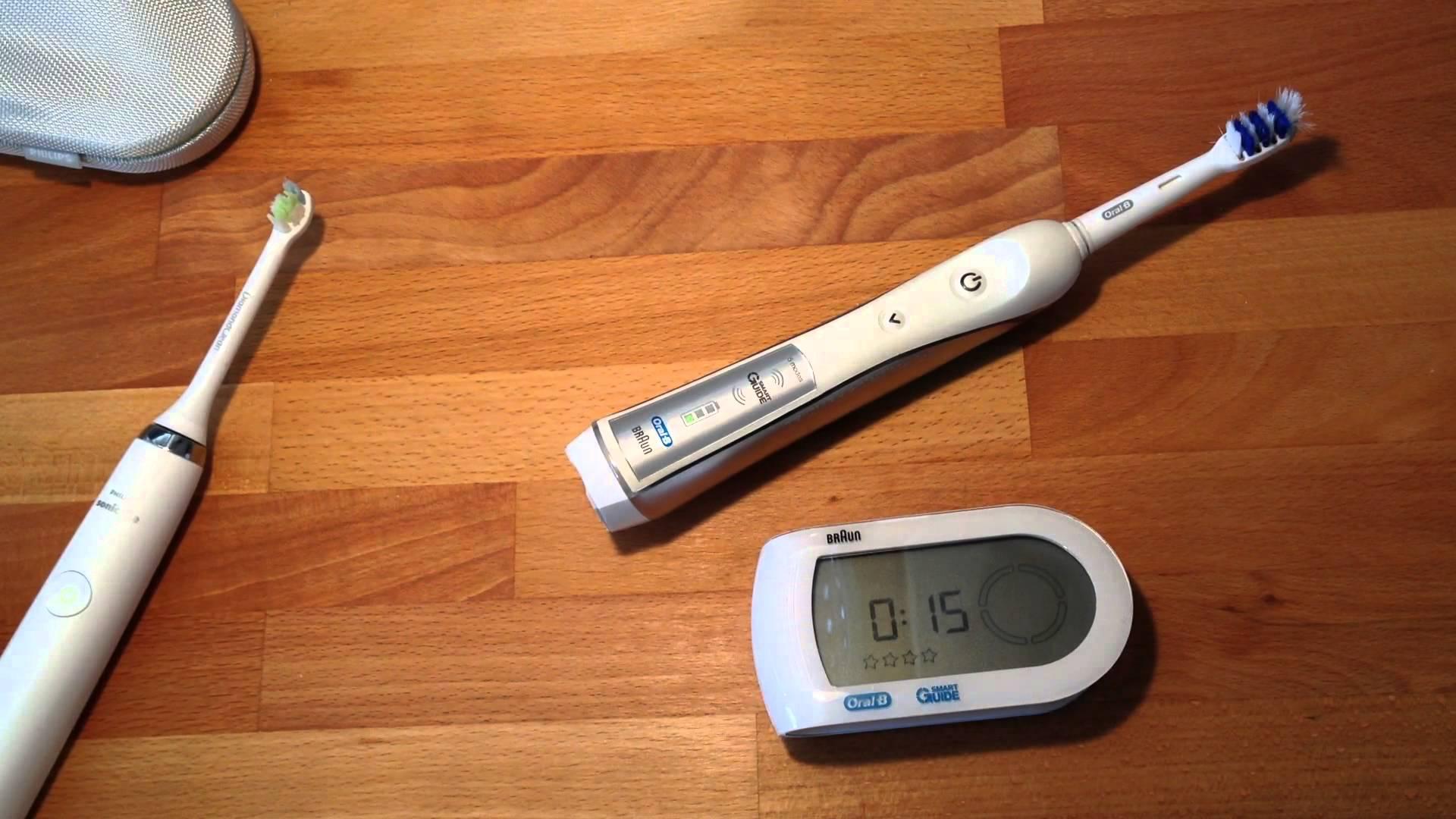 Oral-B Black 7000 SmartSeries Vs Philips Sonicare DiamondClean