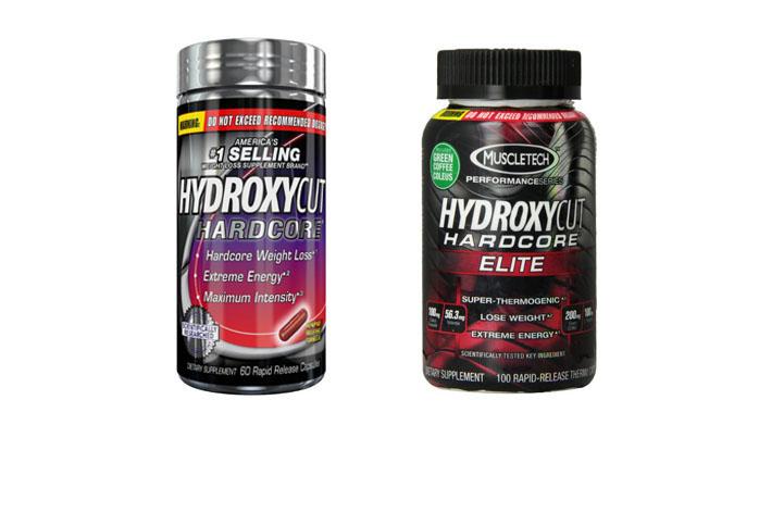 Hydroxycut Hardcore Vs Elite