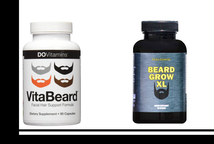 Beard Grow XL Vs VitaBeard
