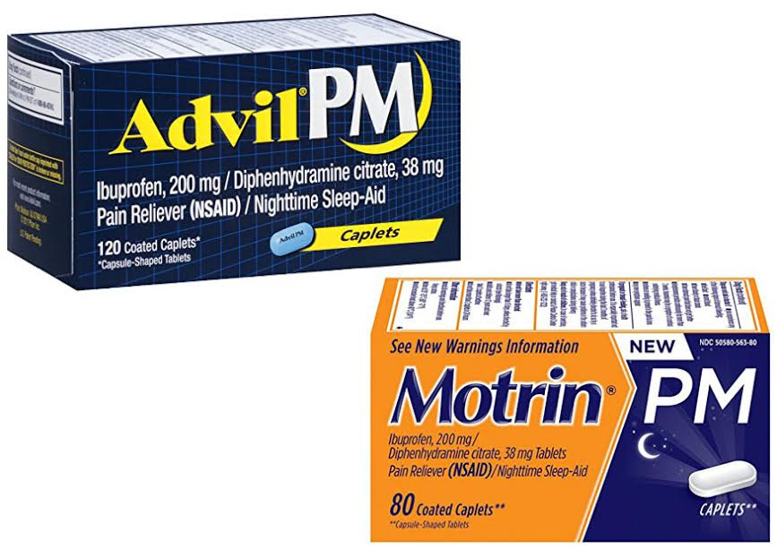 Advil PM Vs Motrin PM