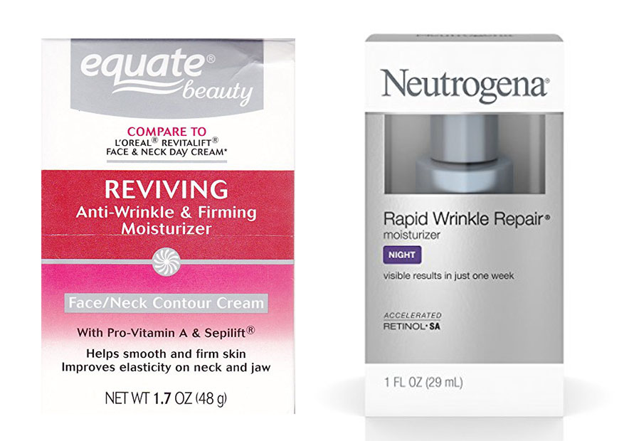 Equate vs Neutrogena