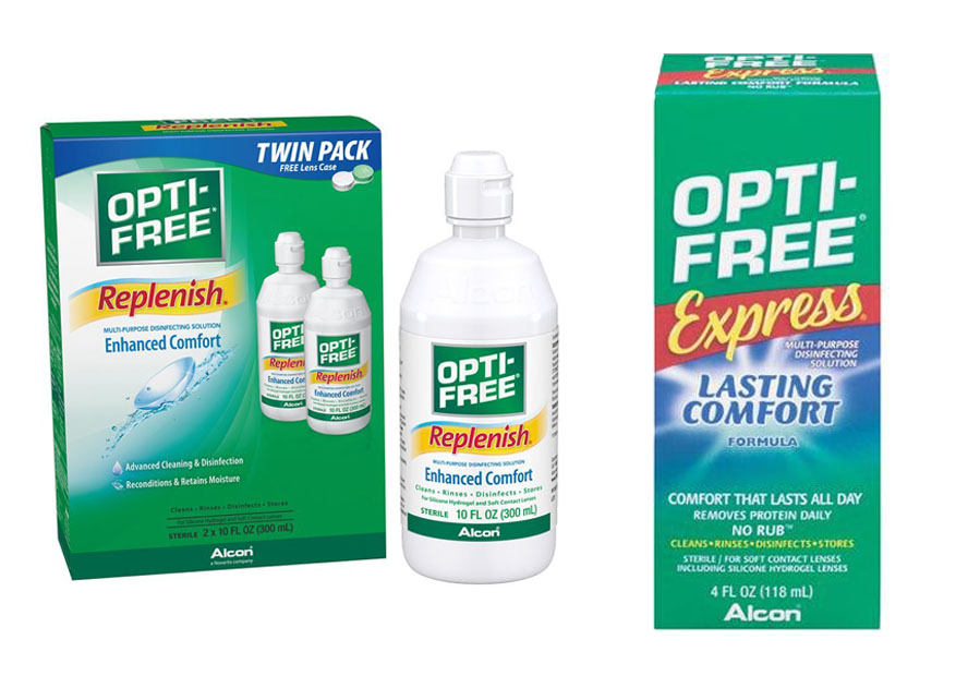 Opti Free Replenish Vs Lasting Comfort