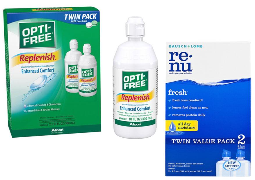opti free puremoist vs replenish vs express