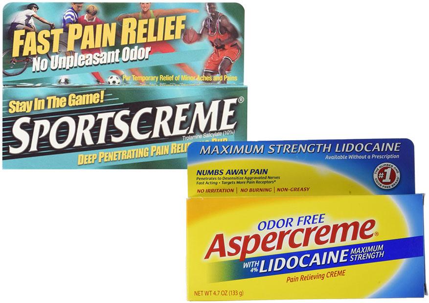 Sportscreme Vs Aspercreme